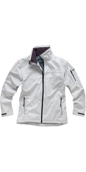 2018 Gill Men's Crew Jacket in Silver 1041