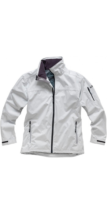 Gill Men's Crew Jacket in Silver 1041