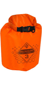 2019 Palm Ultralite Gear Carrier / Dry Bag 3L Orange 10434