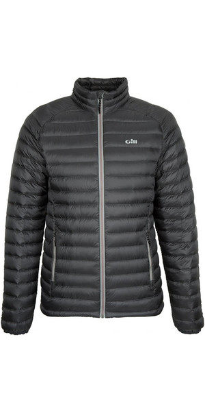 2019 Gill Hydrophobe Down Jacket Charcoal / Red 1062