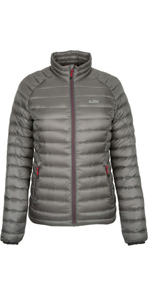 2018 Gill Womens Hydrophobe Down Jacket Pewter 1062W