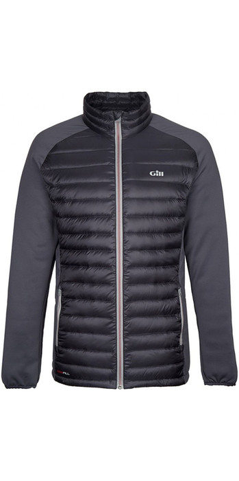 2019 Gill Mens Hybrid Down Jacket Charcoal 1064