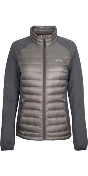 2018 Gill Womens Hybrid Down Jacket Pewter 1064W