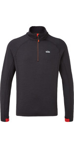 2021 Gill Mens OS Thermal Zip Neck Top Graphite 1081