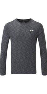 2021 Gill Mens Holcombe Crew Base Layer Charcoal 1100