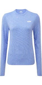 2019 Gill Womens Holcombe Crew Base Layer Sky 1100W