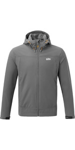 2020 Gill Mens Rock Softshell Jacket Ash 1102