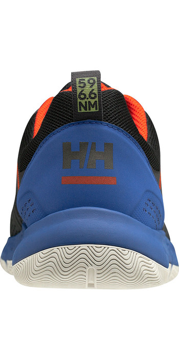 2020 Helly Hansen Skagen F-1 Offshore Sailing Shoes 11312 - Ebony / Royal Blue