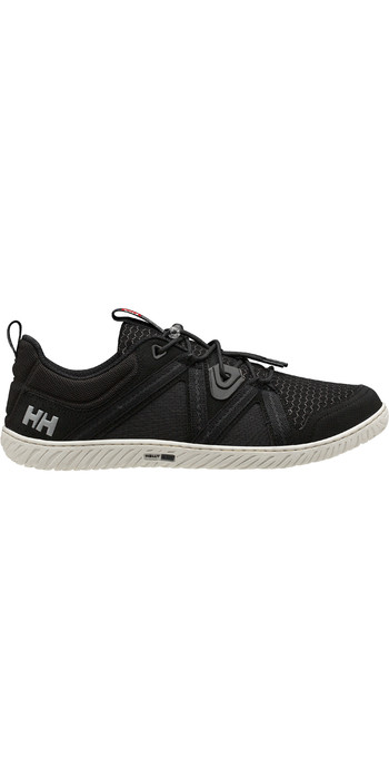 2020 Helly Hansen HP Foil F-1 Sailing Shoes 11315 - Black / Off White