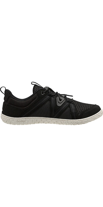 2021 Helly Hansen HP Foil F-1 Sailing Shoes 11315 - Black / Off White
