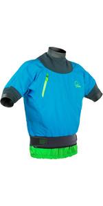 Palm Zenith Short Sleeve Whitewater Jacket Aqua 11442