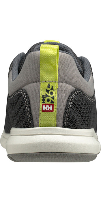 2020 Helly Hansen Feathering Sailing Shoes 11572 - Charcoal / Ebony