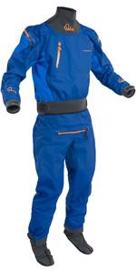 2020 Palm Mens Atom Back Zip Kayak Drysuit + CON ZIP Colbalt / Ocean 12380