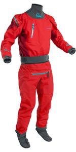 2020 Palm Mens Atom Back Zip Kayak Drysuit + CON ZIP Flame / Chilli 12380