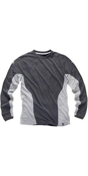2018 Gill Mens I2 Long Sleeve T-Shirt Ash / Silver 1277