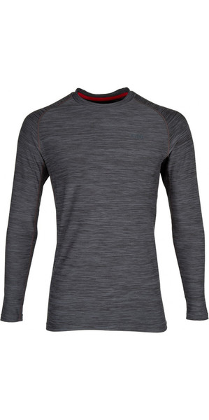 2019 Gill Mens Crew Neck Base Layer Ash 1282