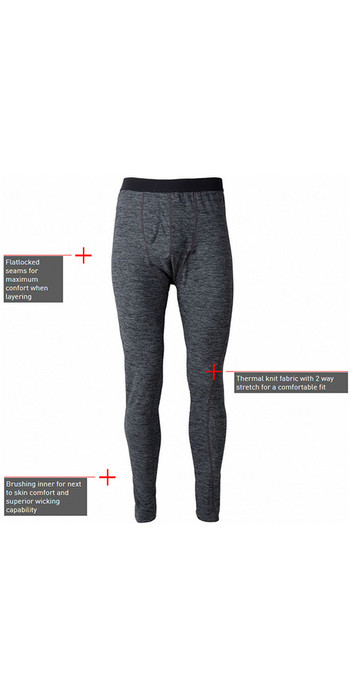 2021 Gill Mens Base Layer Leggings Ash 1283