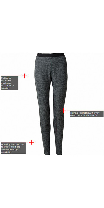 2021 Gill Womens Base Layer Leggings Ash 1283W