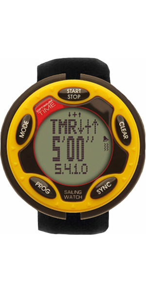 2018 Optimum Time Series 14 Rechargeable Sailing Watch YELLOW 1455R