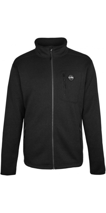 2019 Gill Mens Knit Fleece Jacket Graphite 1493