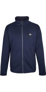 2021 Gill Mens Knit Fleece Jacket Navy 1493
