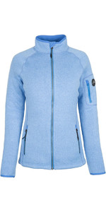 2019 Gill Womens Knit Fleece Jacket Blue 1493W
