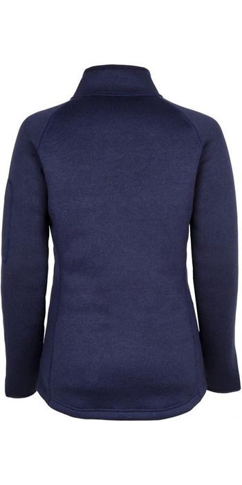 2019 Gill Womens Knit Fleece Jacket Navy 1493W