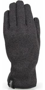2019 Gill Knit Fleece Gloves Graphite 1495