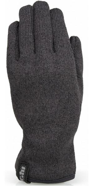 2018 Gill Knit Fleece Gloves Graphite 1495