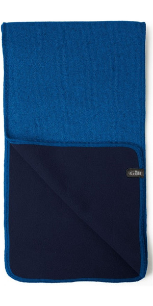 2018 Gill Knit Fleece Scarf Blue 1496