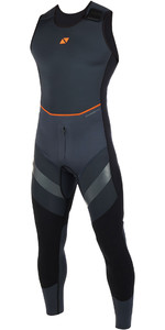 2019 Magic Marine Mens Horizon 3/2mm Hiking Long John Wetsuit Black 160115