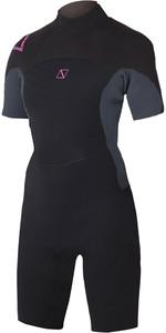2020 Magic Marine Womens Brand 3/2mm Shorty Wetsuit Pink 160215