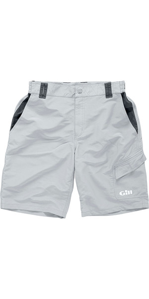 2018 Gill Performance Sailing Shorts Silver Grey 1644 padded optional
