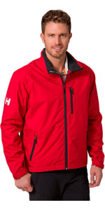 2018 Helly Hansen Crew Midlayer Jacket Red 30253