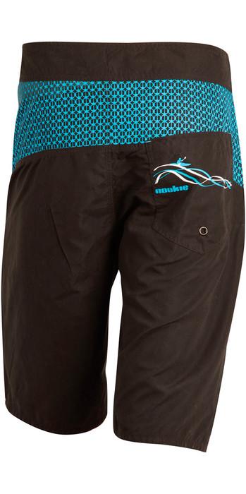 2020 Nookie Boardies Boardshorts BLACK / BLUE SW010