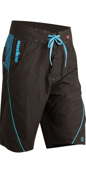 2019 Nookie Boardies Boardshorts BLACK / BLUE SW010