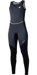2020 Magic Marine Womens Ultimate 1.5mm Long John Wetsuit Black 170055
