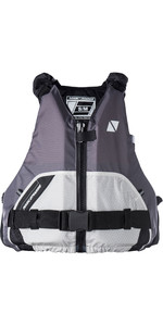 2020 Magic Marine Wave Front Zip Buoyancy Aid Light Grey 170074