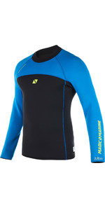 2020 Magic Marine Mens Ultimate Long Sleeve 3mm Neoprene Top Blue 170078
