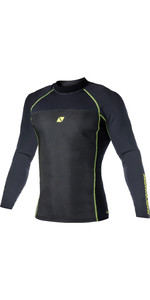 2019 Magic Marine Mens Ultimate L / S 1.5mm Neoprene Top Black 170079