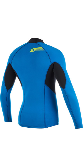 2020 Magic Marine Womens Ultimate Long Sleeve 3mm Neoprene Top Blue 170081