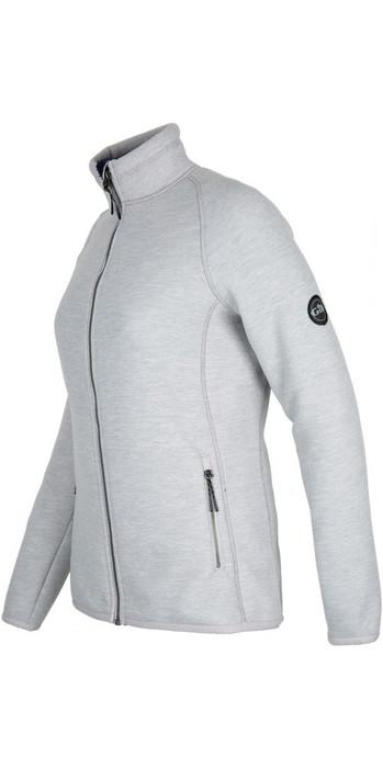 2021 Gill Womens Polar Fleece Jacket Grey 1703W