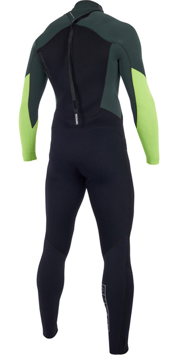 2019 Mystic Star 3/2mm GBS Back Zip Wetsuit Teal 180020