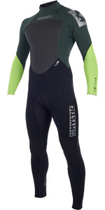 2019 Mystic Star 5/4mm GBS Back Zip Wetsuit Teal 180018