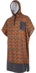 Mystic Allover Poncho Seal Brown 180032