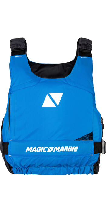 2020 Magic Marine Ultimate Side Zip Buoyancy Aid Blue 180055