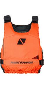 2020 Magic Marine Ultimate Side Zip Buoyancy Aid Orange 180055