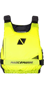 2020 Magic Marine Ultimate Side Zip Buoyancy Aid Flash Yellow 180055