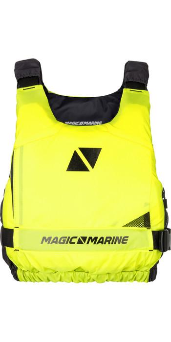 2020 Magic Marine Ultimate Side Zip Buoyancy Aid Flash Yellow 180055