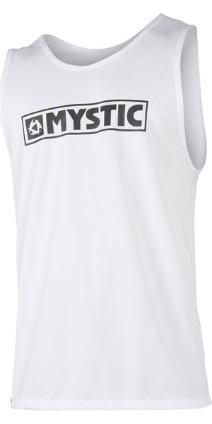 2019 Mystic Star Loosefit Quick Dry Tank Top White 180108